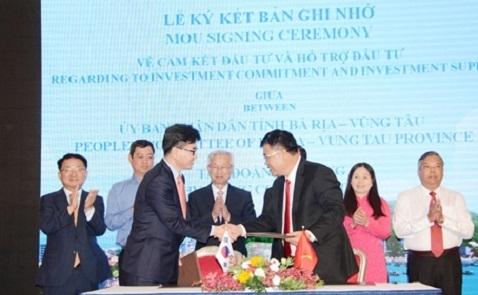 Hyosung ký cam kết đầu tư dự án 1,2 tỷ USD tại Vũng Tàu