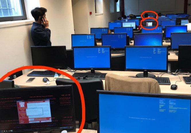 Khẩn cấp ngăn chặn mã độc nguy hiểm WannaCry