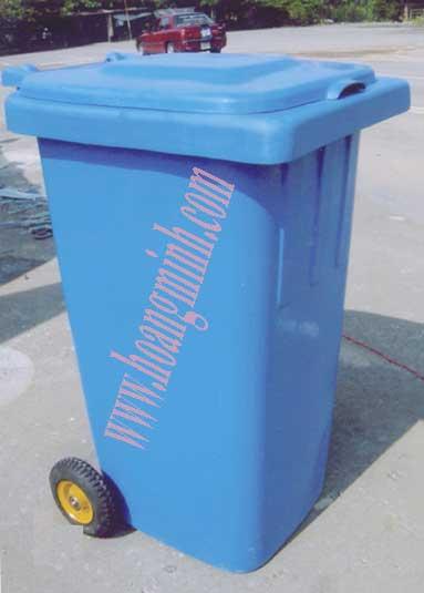 Thùng đựng rác 240l