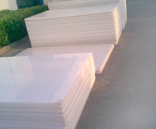 Nhựa POM tấm -Màu trắng